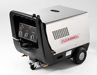 Cleanwell P Hot  Mobile Pressure Cleaner