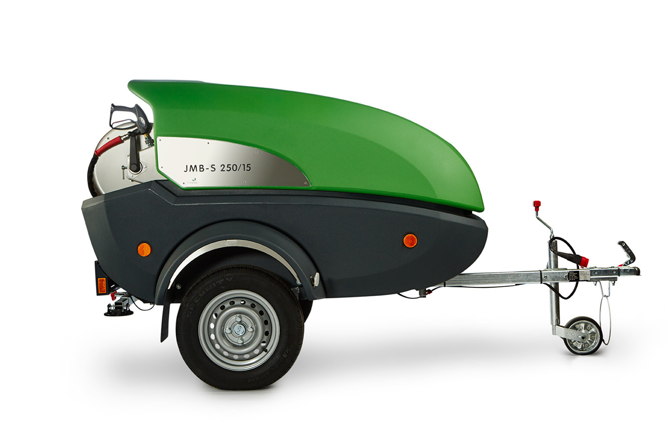 DIBO Trailer Mounted Pressure Cleaners
